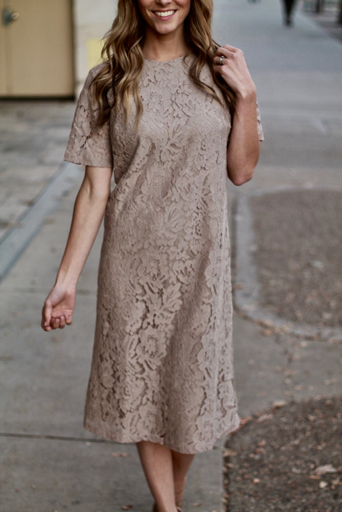 Rebecca Lace Dress