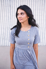 Tia Button Down Dress