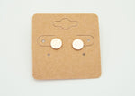 Textured Circle Studs - Copper Sky Boutique