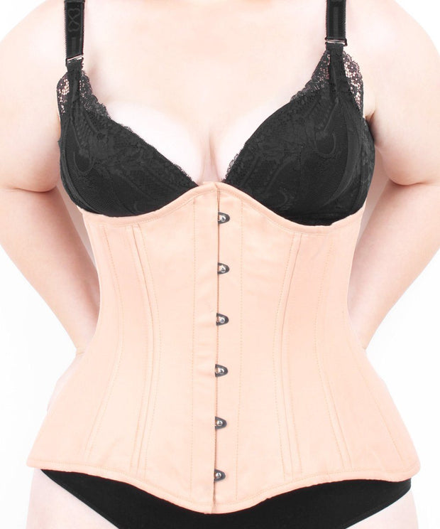 Plus Size Waist Trainer Cotton Longline Corset