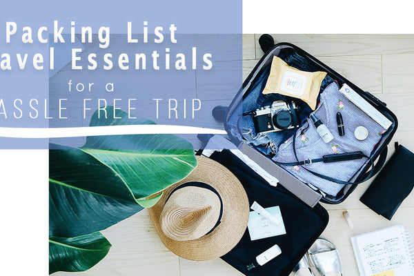 Packing List for Easy Travel