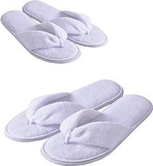 hotel slippers; house shoes for travel
