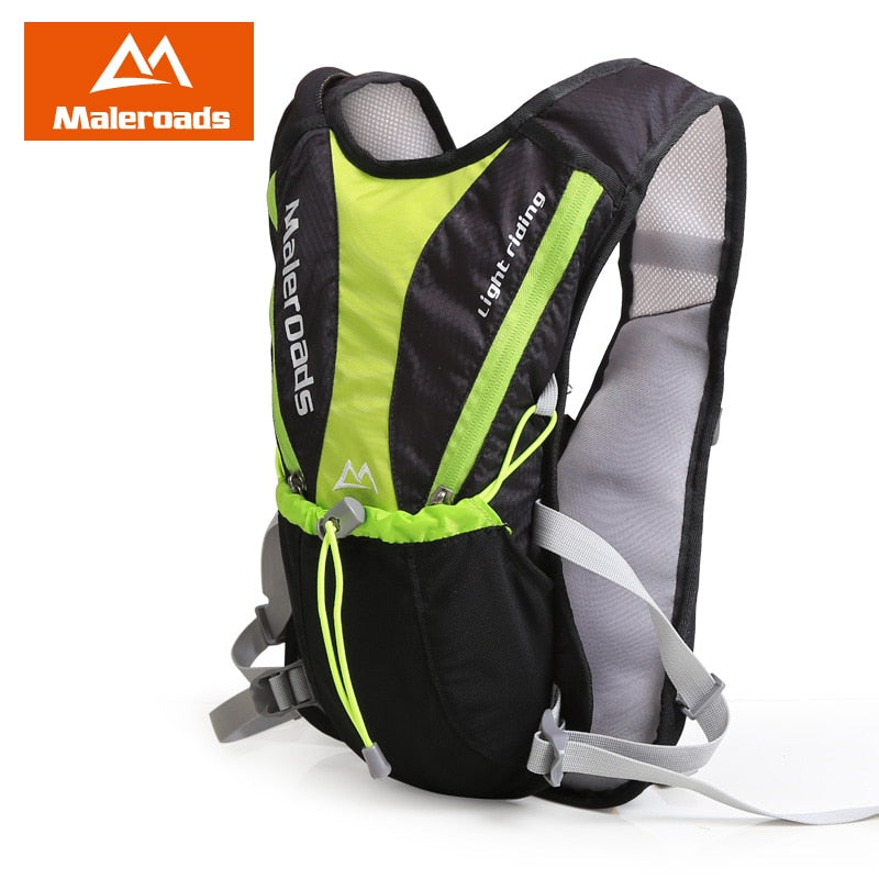 New Maleroads Cycle Rucksack riding backpack Cross Country Runner Ultralight Hike Hydration mini Bicycle Backpacks Water Bag 5L