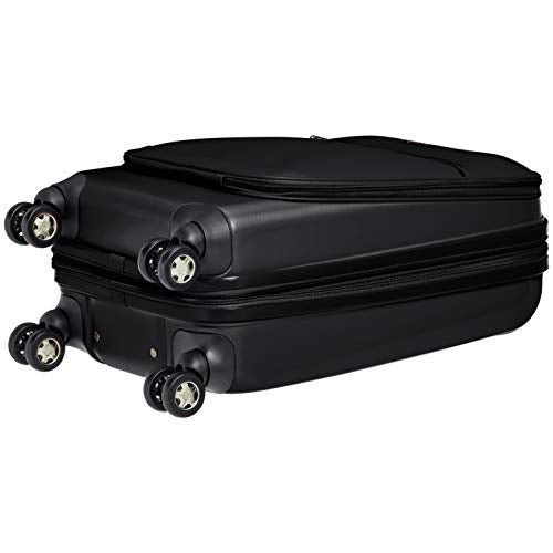 Hybrid Carry On Hard-Softside Expandable Spinner Suitcase
