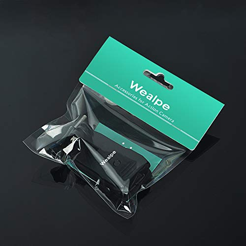 Wealpe Backpack Clip Mount Strap Mount Compatible with GoPro Hero 8, 7, 6, 5, 4, Max, Session, 3+, 3, 2, 1, Fusion, Hero (2018), Xiaomi Yi Cameras