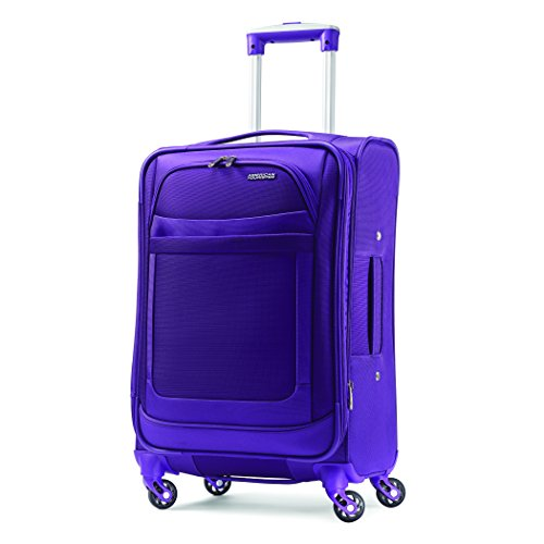 American Tourister Softside Spinner - Purple