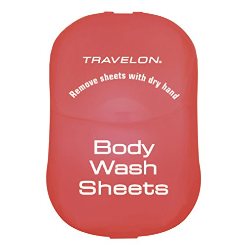 Travelon Body Wash Toiletry Sheets, 50-Count
