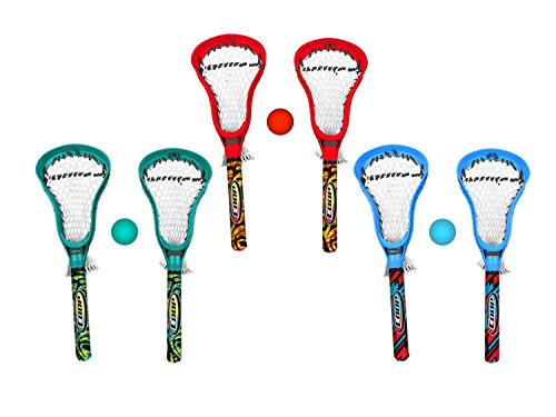 COOP Hydro Lacrosse Game Set - Outdoor Pool Toy for Kids and Adults - Multicolor