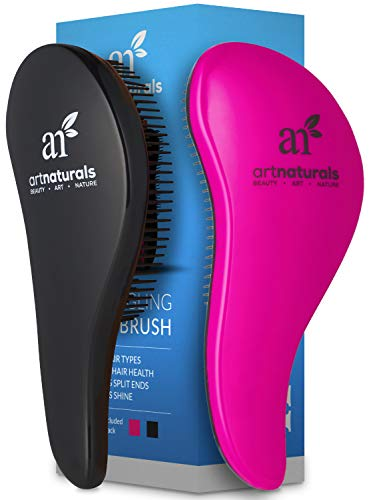 ArtNaturals Detangling Hair Brush Set