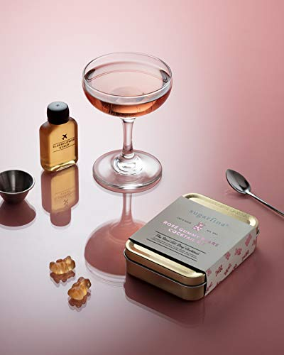 W&P MAS-CARRYKITSFR Carry Kit, Cocktail, Single, Sugarfina Champagne Rose