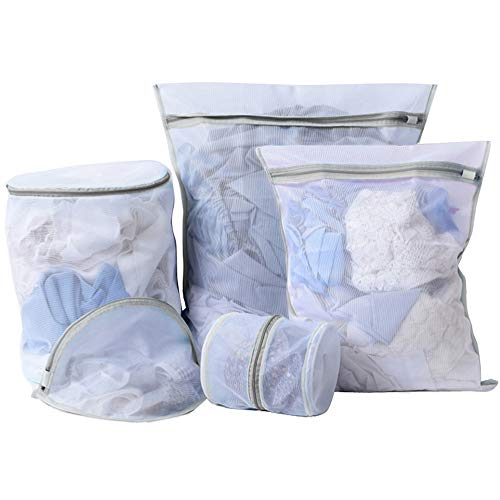 Heavy Duty Mesh Laundry Bag- Set of 5