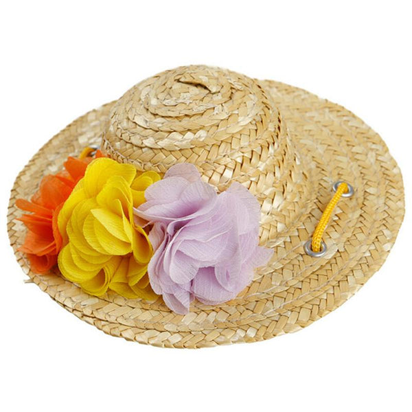 Dog Accessorites Sun Protection Hat For Dogs Cute Pet Casual Straw Hat Cap Chapeu Pet Cap