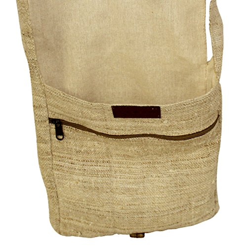 Core Hemp 100% Hemp Crossbody Messenger Bag - Unisex