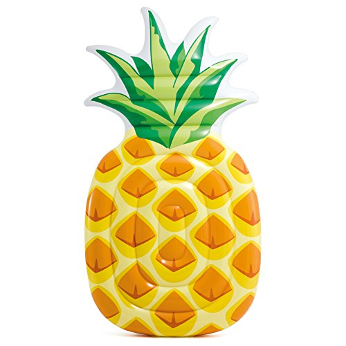 "Intex Pineapple Inflatable Mat, 85"" X 49"""