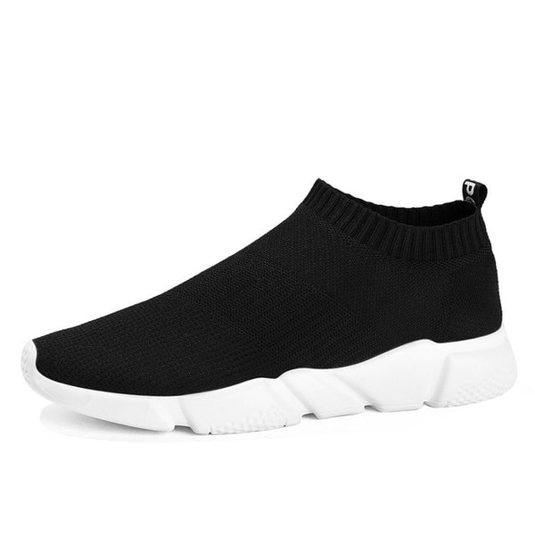 Men's Casual Shoes Lightweight Slip on Socks Sneakers Youth Boys Breathable Trainers Low Cut Harajuku Speed Krasovki