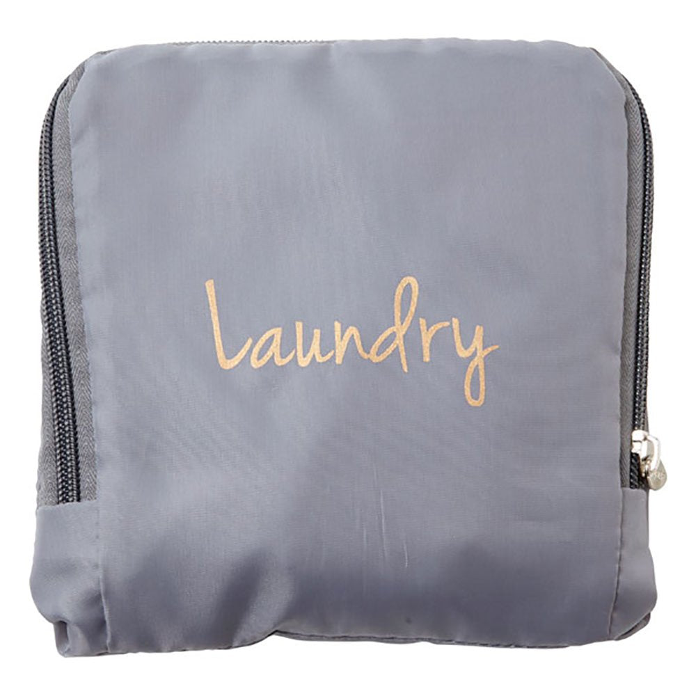 Miamica Laundry Bag, Grey/Gold