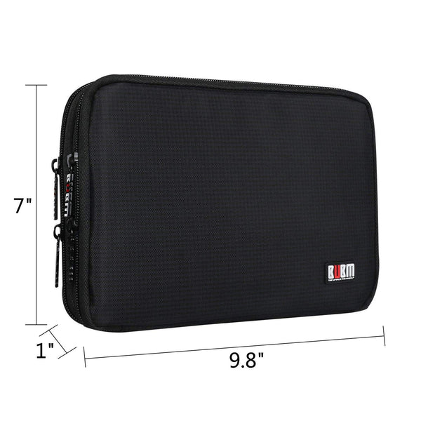 Double Layer Travel Electronics Organizer