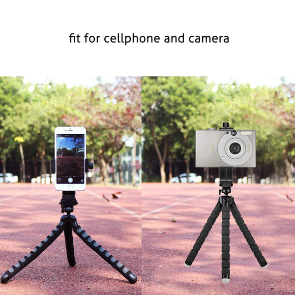 Ailun Tripod Phone Mount Holder Head Standard Screw Adapter Rotatable Digtal Camera Bracket Selfie Lens Monopod Adjustable Ring Light for Camcorder iPhone X XR Xs Max 8 7Plus Galaxy s10 s9 plus Note10
