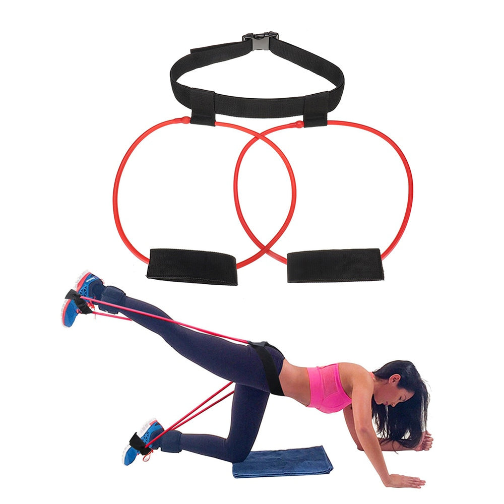 Women Leg Glute Lifter Rubber Loop Exercise Yoga Fitness Workout Resistance Band Muscles Trainer Booty Belt Pilates Loop Elastic