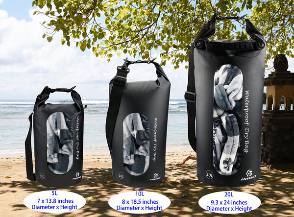Waterproof Dry Bags Set of 3
