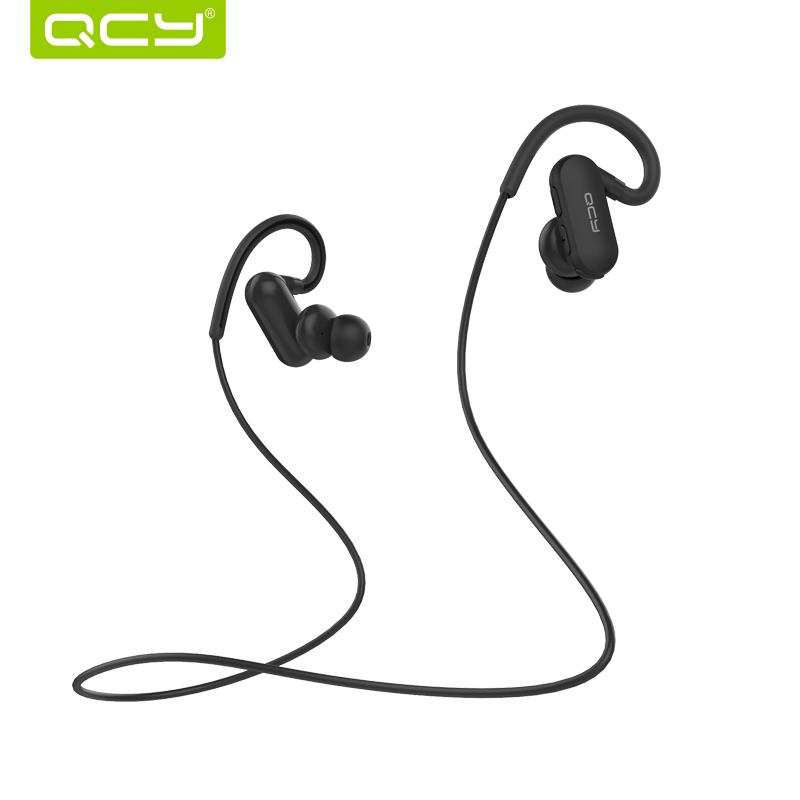 QCY QY31 Bluetooth Headphones Wireless IPX4 Sweatproof Headphones Sports Running Headsets with Bluetooth 4.1 aptX Stereo Sound