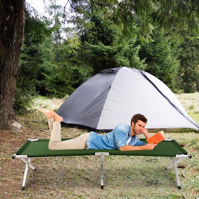 Aluminum Folding Camping Bed Outdoor
