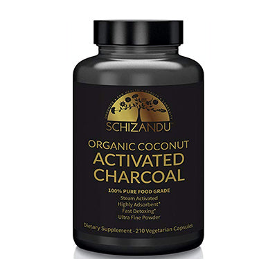 Organic Activated Charcoal Capsules
