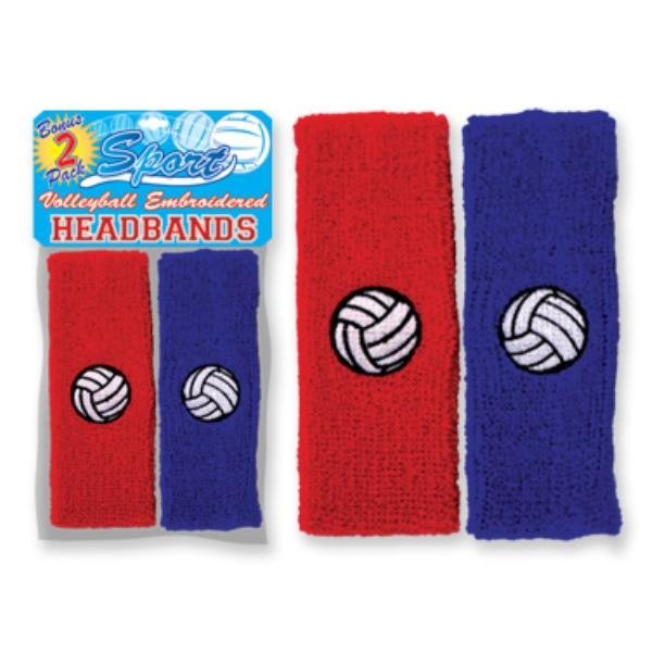 Vollyball Pride 2 Pack Headbands Case Pack 72