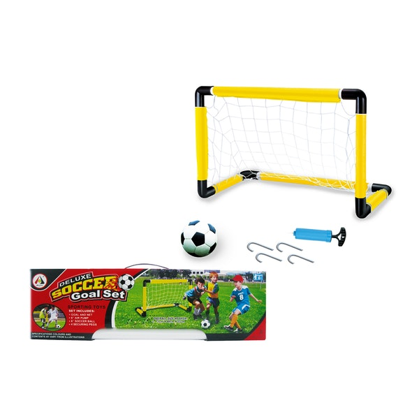 Soccer Goal Set with Ball & Pump Case Pack 12
