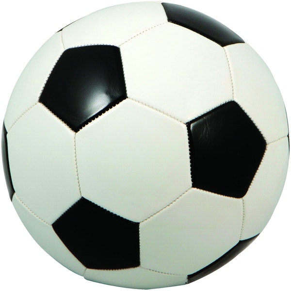Regulation Size Black & White Soccer Ball Case Pack 25