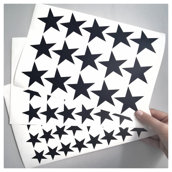 Stars - Wall Decals. Different colours available