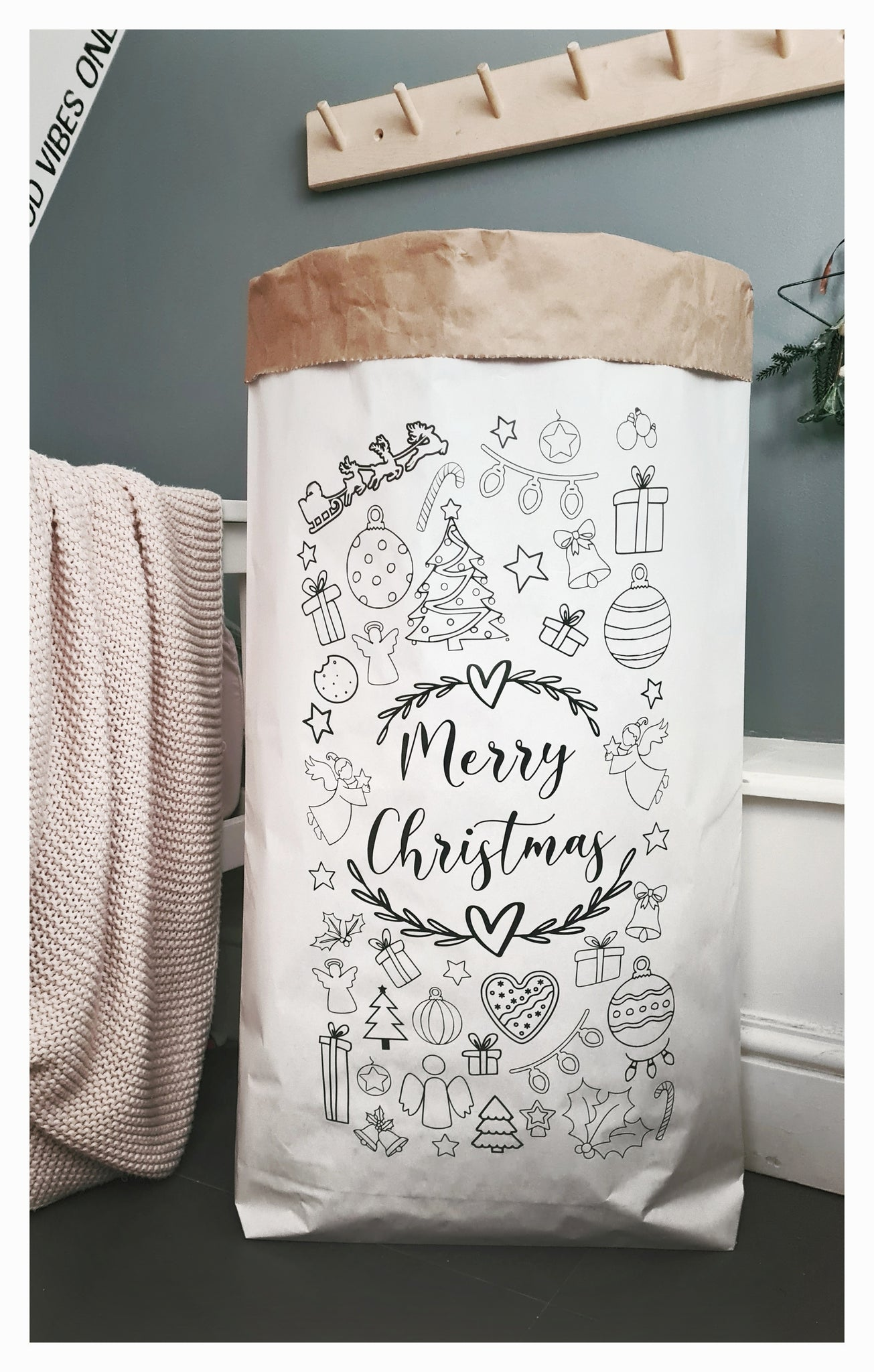 Colour In Paper Storage Bag