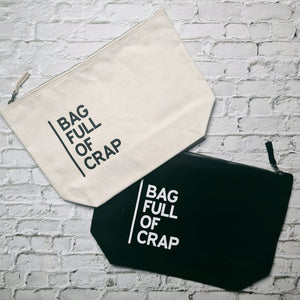Bag Full Of Crap - Make Up Bag
