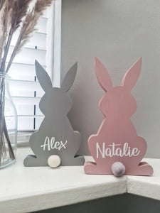 Personalised Wooden Bunny