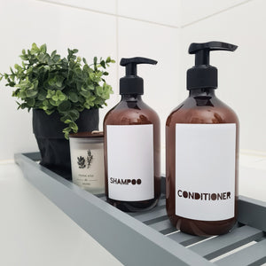 Labels - Shampoo, Conditioner, Lotion etc.