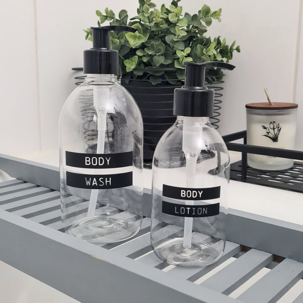 Personalised Bottles with Pump