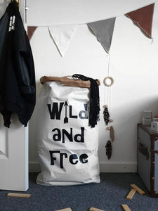 Wild and Free Paper Storage Bag