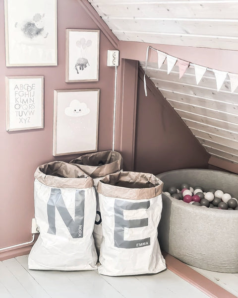 Personalised Letter Paper Storage Bag