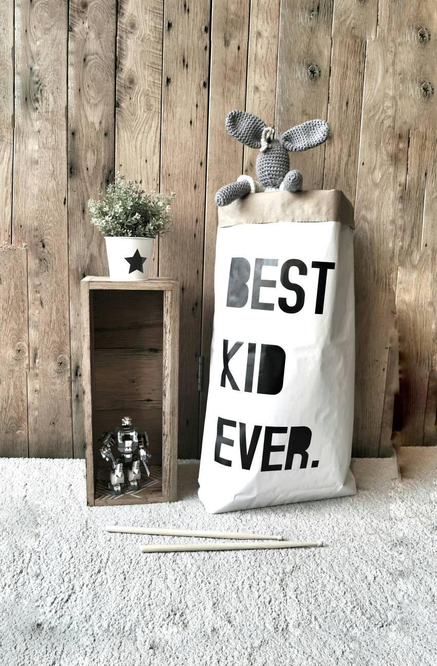 Best Kid Ever - Paper Storage Bag