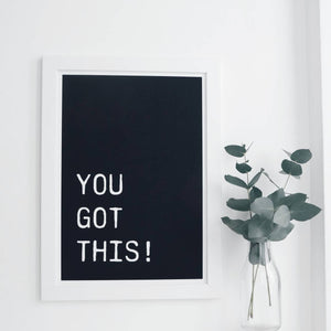 You Got This! - wall print