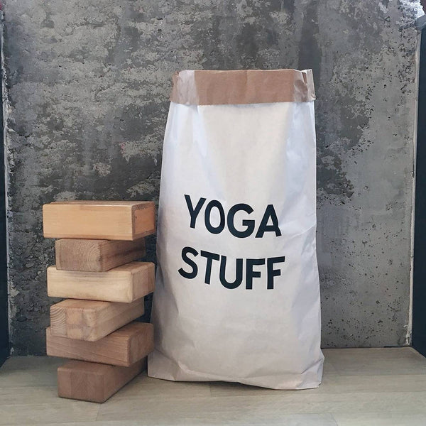 Gym Stuff, Yoga Stuff, Pilates Stuff Paper Storage Bag