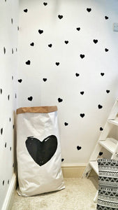 Hearts - Wall Decals. Different colours available