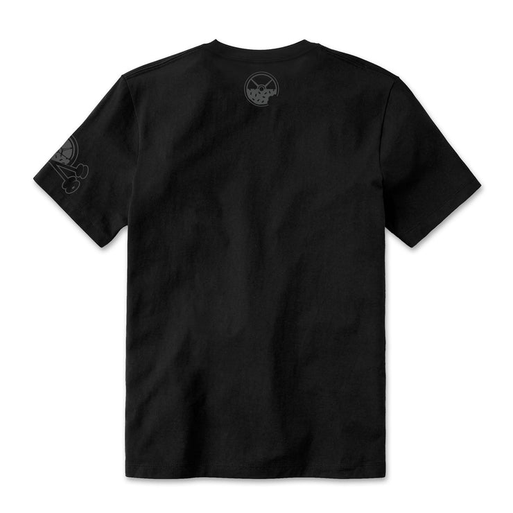 Black on Black KFKF Tribe T-Shirt