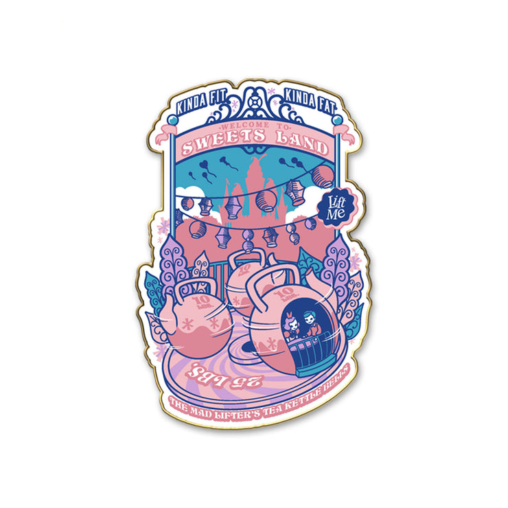Limited Edition Sweets Land Pin