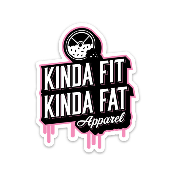 KFKF Drip Logo Sticker