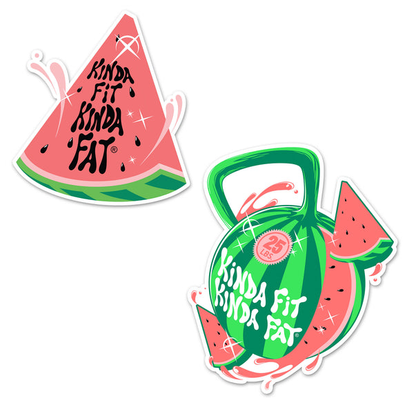 Kettlemelon Sticker Pack
