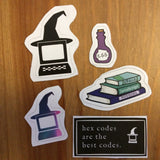 Magickal Supplies Sticker Pack