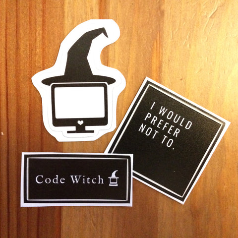 Code Witch Sticker Pack