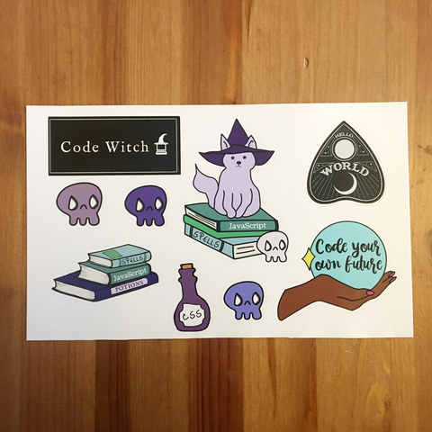 Tech Coven Sticker Sheet