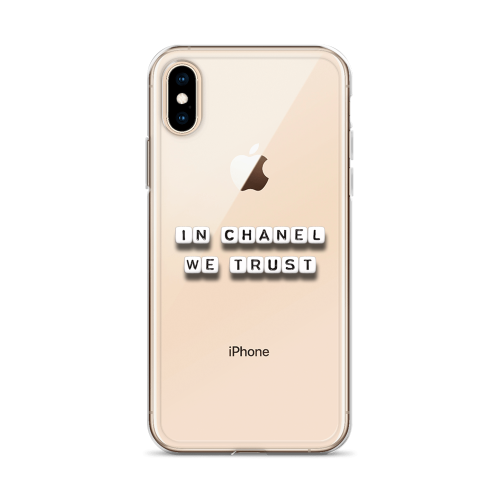 In Chanel We Trust - iPhone Case
